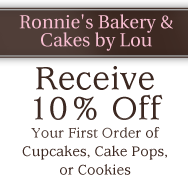 Coupon, Customized Cakes in Bluffton, SC